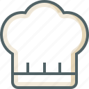 chef, hat icon