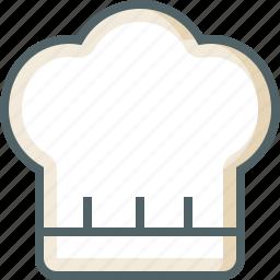 chef, hat icon