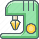 beater, egg, machine icon