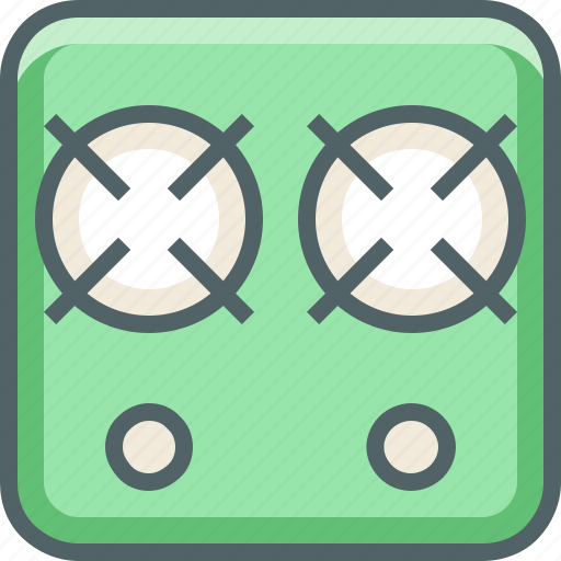 gas, oven icon