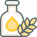 bottle, nutrition icon
