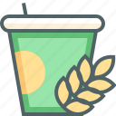 cup, nutrition icon
