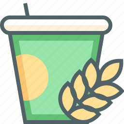 cup, nutrition icon