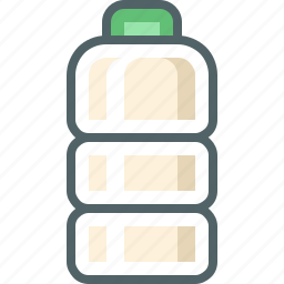 bottle, plastic icon