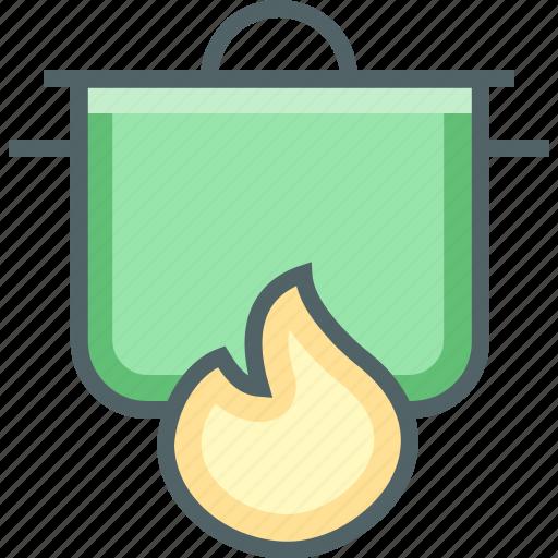 frame, pot icon