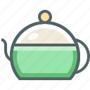 pot, tea icon