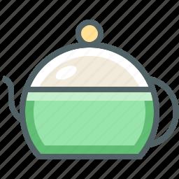 pot, tea icon