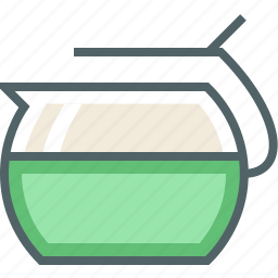 pot, water icon
