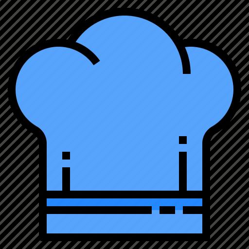 Chef, cooking, hat, kitchen, restaurant icon - Download on Iconfinder