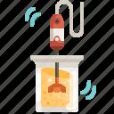 pack, mixer, whisk, kitchen, utensils icon