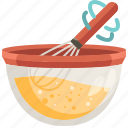 cook, bowl, cooking, kitchen, mixer, mix, mixing