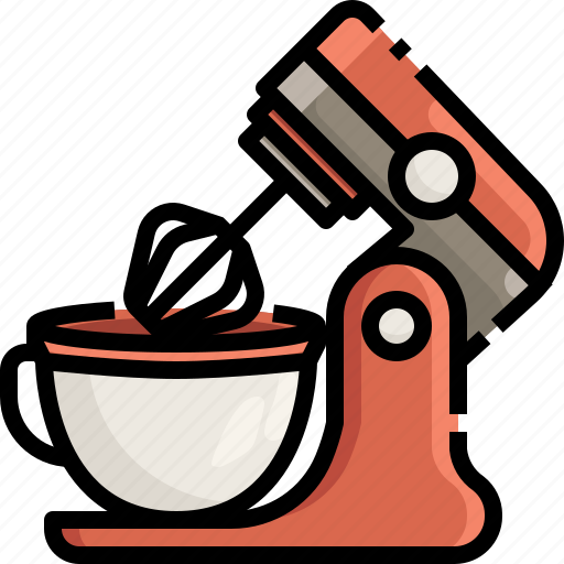 Appliances Electric Kitchen Kitchenware Mix Mixer Pack Icon