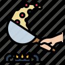 cooking, food, frying, kitchen, pan, restaurant