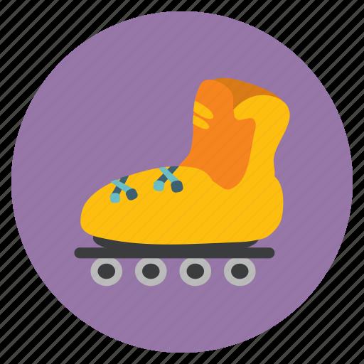 board, games, ice, roller, skate, skater, skating icon