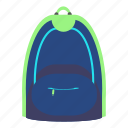 backpack, bag, education, luggage, school, student, vacation icon