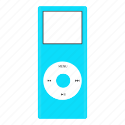 apple, device, gadget, ipod, multimedia, music, technology icon