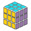 cube, rubiks, challenge, game, play, puzzle, strategy