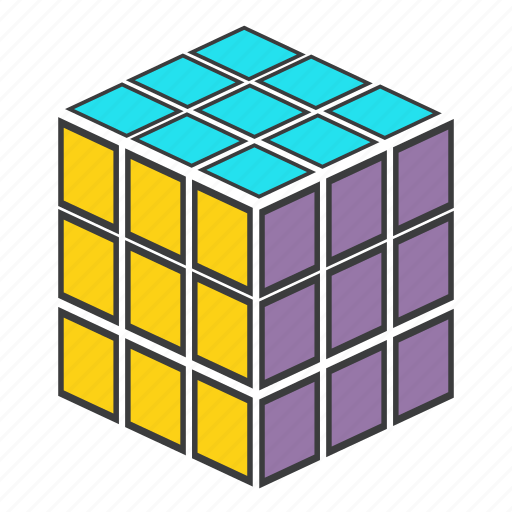 challenge, cube, game, play, puzzle, rubiks, strategy icon