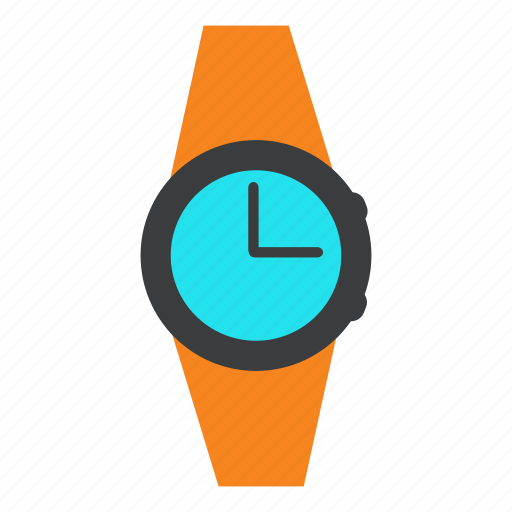 accessory, alarm, clock, schedule, time, watch, wrist icon
