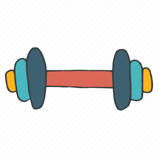 barbells, dumbbells, exercise, fitness, gym, training, workout icon