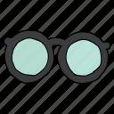 accessory, eyecare, eyeglasses, geek, spectacles, nerd, opticals icon