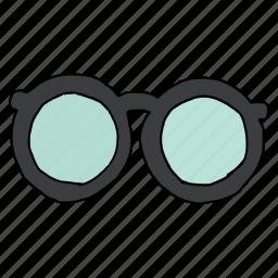 accessory, eyecare, eyeglasses, geek, nerd, opticals, spectacles icon