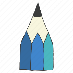 draw, education, pencil, school, stationery, tool, write icon