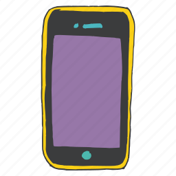 call, communication, device, gadget, mobile, phone, smartphone icon