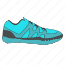 accessory, fitness, running, shoe, shoes, sports, training icon