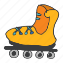board, game, ice, roller, skate, skater, skating icon