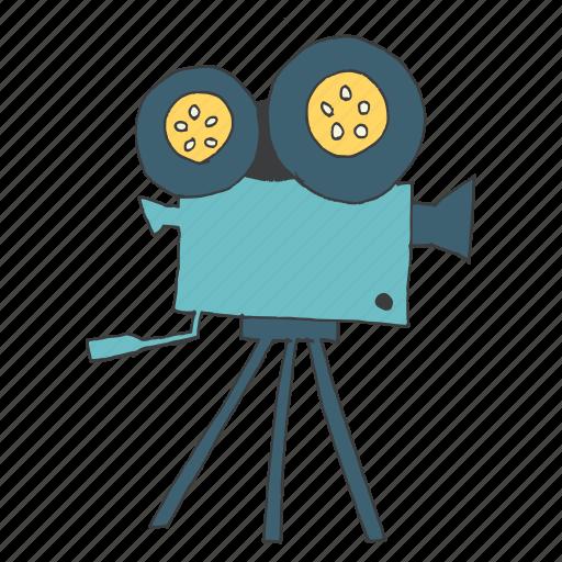 camera, equipment, film, movie, record, shoot, video icon