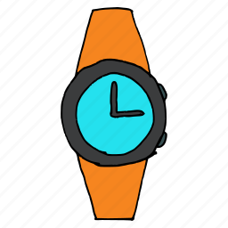 accessory, alarm, schedule, style, time, watch, wrist icon