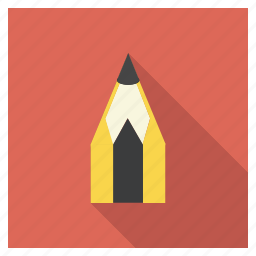 draw, education, learning, pencil, school, tool, write icon