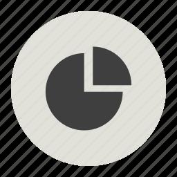 graph, growth analysis, marketing, pie icon
