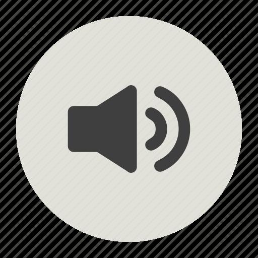 audio profile, ringtone, un mute, volume icon