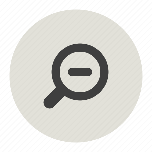Zoom out, zoomminus icon - Download on Iconfinder
