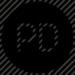 alphabet, copyright, domain, expired, internet, public icon