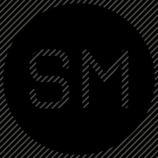 alphabet, media, network, sm, social icon