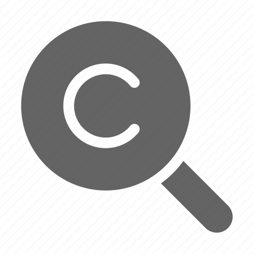 Copyright, legal, patent, search icon - Download on Iconfinder