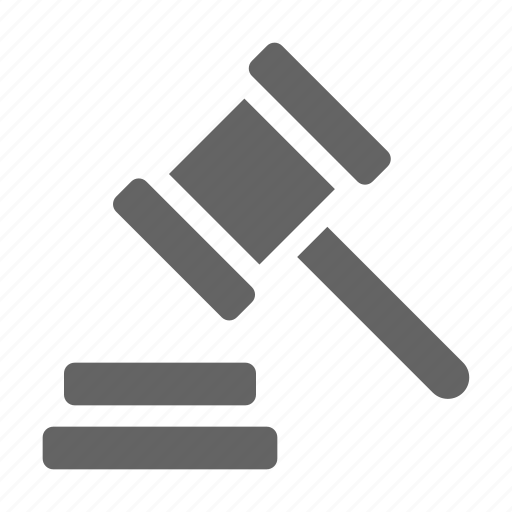 Copyright, hammer, law, patent icon - Download on Iconfinder