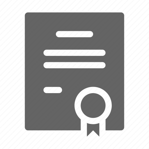 Author, certificate, copyright, patent icon - Download on Iconfinder