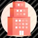 architecture, building, capital, city, company, metropolis, property icon