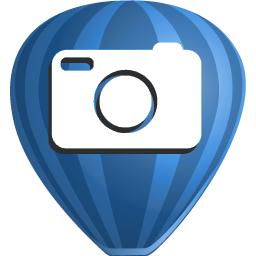 corel, paint, photo icon