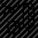 concept, mers, ncov, quarantine icon