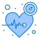beat, care, heart, pulse, time icon