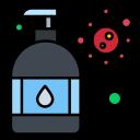 hand, manicure, moisturizer, protection, virus, wash icon