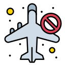 airoplan, allow, banned, infrared, not, travel icon