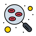 blood, lab, research, sample, test icon