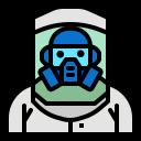 antivirus, clothing, corona, corona virus, coronavirus, covid, mask, protective, suite icon