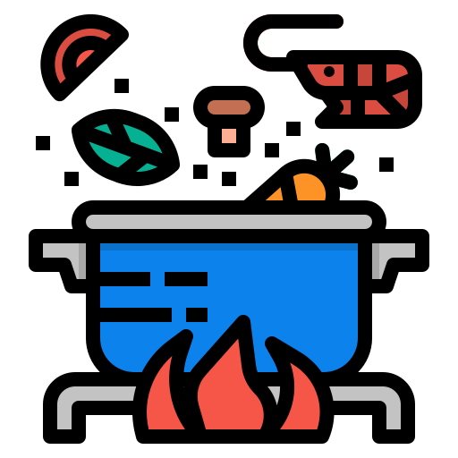 boiling, cook, cooking, food, hot icon